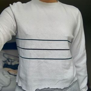 O'neill 3 striped white thermal long sleeve